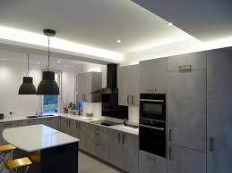 kitchen ambient lighting. our latest kitchen lighting schemea mix of pendants and linear to achieve ambient