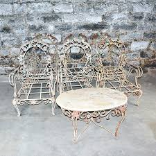 metal patio furniture for sale. Awesome Vintage Metal Patio Furniture For Outdoor Wrought Iron Set 43 . Amazing Sale N