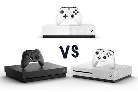 xbox one x vs xbox one s vs all digital