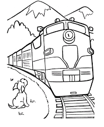 But in addition to the role of a. Free Printable Train Coloring Pages For Kids