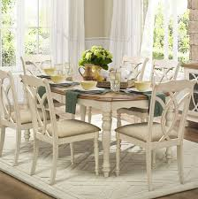 Antique White Dining Room Simple Inspiration