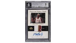 We've been lucky enough to hit some nice lebrons live in our breaks! Lebron James S Signed Rookie Card Sells For A Record 5 2 Million Robb Report