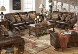 Brilliant Excellent Leather Living Room Furniture Sets