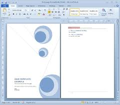15 Cover Page Template Microsoft Word Images Report Cover