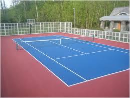 Understanding The Cost Of A Backyard Basketball Court  SportProsUSABackyard Tennis Court Cost
