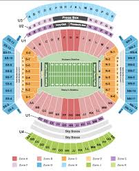 21 Up To Date Alabama Seating Chart