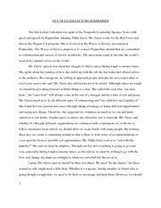 service learning reflection paper service learning reflection  final essay service learning reflections · 6 pages outside lectures summaries final essay
