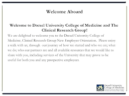 Department Welcome Letter Template Word Doc Hr Email