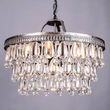french style chandeliers retro glass drops led crystal chandeliers lamp for dining bedroom big french empire style restoration hardware lighting in