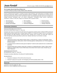 Ideas Collection Sample Resume Account Executive Fresh Amazing