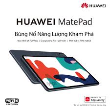 Máy Tính Bảng Huawei Matepad | Màn Hình 2K Fullview | Hiệu Suất Mạnh Mẽ |  Âm Thanh Vòm Sống Động | Hàng Chính Hãng | Huawei Flagship Store