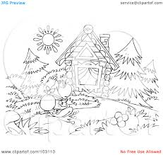 logging coloring pages strange log cabin coloring page logging pages zoro blaszczak co 5810