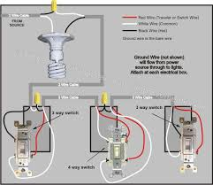 4 way switch wiring diagram electrical wiring diagrams residential at Electrical Wiring Diagrams