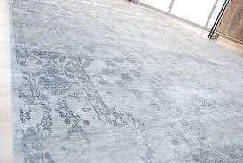 handmade bamboo silk rug saphire 245x348cm
