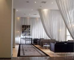 room divider curtain wire