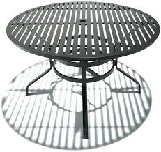 pet outstanding round metal patio table beautiful outdoor patio set with umbrella intended for iron patio table with umbrella hole attractive