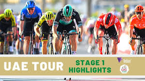 UAE Tour 2020: Stage 1 Race Highlights - YouTube
