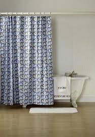 Nautical Bedroom Curtains Nautical Anchor Shower Curtain