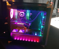 Ibuypower Smart Lighting Ibuypower At Ces Project Case Builder For Better Case