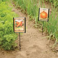 seed packet plant markers 3 pack