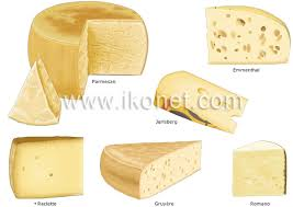 The Classification Of Cheeses Visual Dictionary