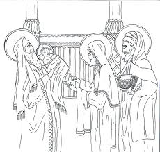 Catholic Coloring Page For Kids Of