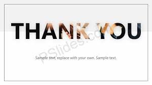 For Powerpoint Creative Thank You Slide For Powerpoint Creative Texts