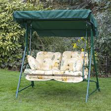 garden swing seat cushions uk. single classic garden swing seat cushion - leaf beige cushions uk