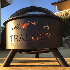 new traeger outdoor fire pit outdoor fire pit traeger style