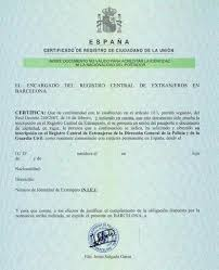 Residency In Spain For Eu Nationals Tla Lawyers English Speaking
