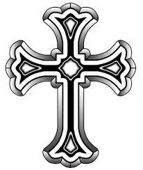 татуировка православного креста на руке