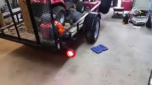 Car Trailer Lights And Accessories Installing New LED Lights On My Utility Trailer YouTube 15