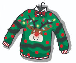 Image result for tacky christmas sweaters cartoon