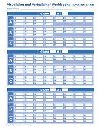 Student Tracking Chart Gander Publishing V V Workbooks Tracking Charts