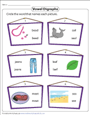 There are 80 pages of free phonics worksheets in total which can be done daily, weekly, or at any rate that suits the curriculum it's being used with. Vowel Digraphs Worksheets