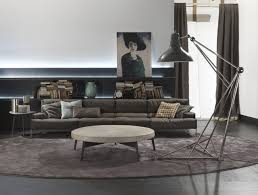 Industrial Living Room Furniture Use Floor Lamps In Your Industrial Style Living Room