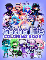 In gacha life, you can create and customize your own chibi characters, which you can set them up for a scene in the studio mode, or take the role of one of them and interact with and befriend the npcs in the life mode. Gacha Life Coloring An Unique Coloring Book For Fan Of Gacha Life With High Quality Character Designs For Stress Relieving And Relaxation Bosco Marvin 9798684874277 Amazon Com Books