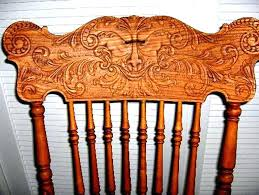 old rocking chairs value the press back art of chair decoration without hand carved antique wooden chair identification black rocking chairs home depot