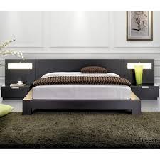 Modern low bed Queen Bed Image Of Custom Low Platform Bed Peter Schiff Low Platform Bed Ideas