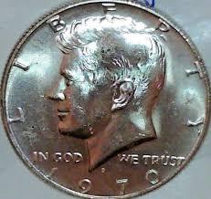 1972 Kennedy Half Dollar Value Chart 1970 D 50c Kennedy Half Dollar