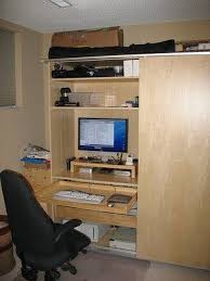 office in a wardrobe. We Have Seen A Home Office Hidden In Pax Wardrobe Before But It Is Always Good To See Other Interpretations Of An Idea. N