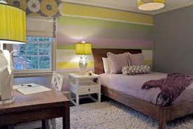 Purple Bedroom Colors Delightful Smart Teen Bedroom Idea Gray Grey Purple Green Yellow