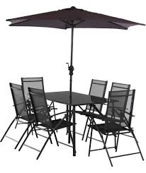 milan 6 seater patio set at argos co uk your for garden table and chair sets