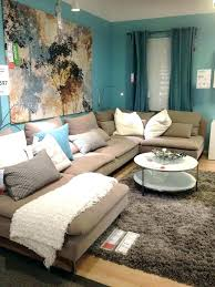 blue walls brown furniture. Blue Pillows On Brown Couch Living Room Ideas Couches Glamorous Walls Furniture