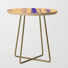gerhard richter inspired abstract urban rain 4 modern art wall decor side table