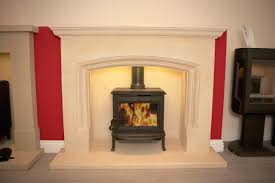 Small Gas Fireplace For Bedroom Calm White Limestone Fireplace Ideas With Handsome Small Gas