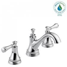 brushed chrome bathroom faucets. Alluring Chrome Bathroom Faucets Combine With Delta Silverton 8 In Widespread 2 Handle Faucet Cross Handles Brushed H
