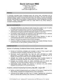 Grant Writing Resume Bestresume Com
