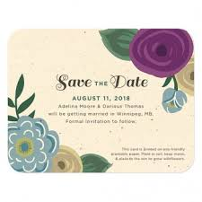 Reserve The Date Cards Plantable Seed Save The Date Cards Catalog Botanical Paperworks