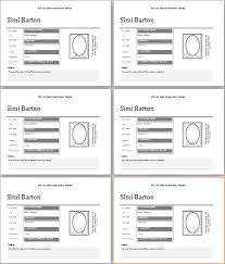 Employee Profile Format Word Profile Template Magdalene Project Org